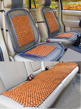 3pcs/Set High Quality Wood Bead Beaded Natural Massage Chair Wooden Truck Auto Car Seat Cushion Covers