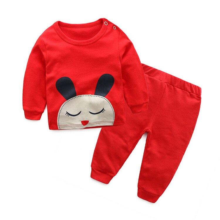 Multicolor cotton Cartoon Boys Girls Clothes adorable Babys Sets WY301-WY316<br>