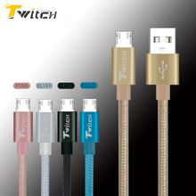 Micro USB Cable Cord Charger Nylon Braided Mini USB Cable Wire for Samsung s5 s6 Xiaomi Huawei  Android Mobile Phone Data cables