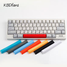 Topre realforce hhkb capacitor keyboard keycaps multicolour cap pbt material mixed color white black red blue spacebar