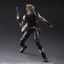 Play Arts Final Fantasy Figure Final Fantasy XV Prompto Argentum Figure PA 27cm PVC Action Figure Toys Play Arts Kai Figure