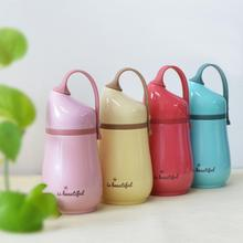 260ml Cartoon Stainless Steel Thermos Mug Cute Sport Water Vacuum Outdoor Travel Bottle Picnic Portable 2017 Newest W35