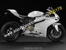 Hot Sales,For Ducati Panigale 1199 1199S 899 2012-2014 1199/1199S/899 All White Bodywork Motorcycle Fairings (Injection molding)
