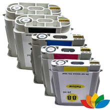 5 Compatible hp88 HP 88 XL 88XL Ink Cartridges for Officejet Pro K550dtn, K550dtwn, L7681, L7700, L7710, L7555, L7580, L7590(China)