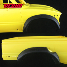 1/10 Scale RC Rock Cralwer  hilux  tamiya tf2 rubber fender wheel eyebrow broadened wheel eyebrow