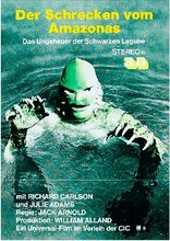 Germany Creature from the Black Lagoon (1954) Sci-Fi Movie Film Retro Vintage Kraft Poster Canvas Wall Sticker Home Decor(China)