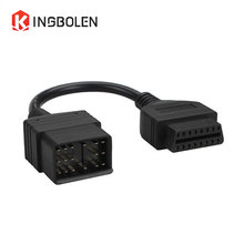 For Toyota 17pin to 16Pin Female OBD2/OBDII For Toyota 17 Pin to 16 Pin female Connector Diagnostic tool cable