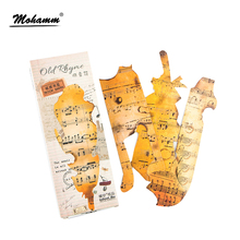 30 pcs/lot Cute Shaped Old Sheet Music Paper Bookmark Gift Stationery Film Bookmarks Book Holder Message Card School Supplies(China)