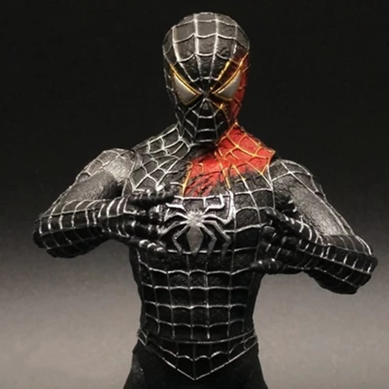 VENOM CARNAGE ENEMY SPIDER-MAN MARVEL TOY ACTION FIGURE STATUE 18CM 7INCH