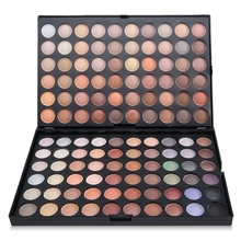 GUSTALA Pro 120 Colors Eyeshadow Palette Eye Shadow Makeup Warm Cosmetics Contain Matte Shine Waterproof Earth Color Eyeshadow(China)