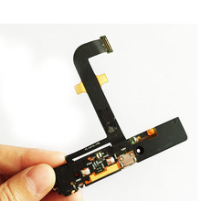 USB Charger Dock Port Flex Cable For Lenovo K900 Charging Connector Plug Board Replacement Parts(China)