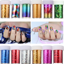 15pcs/lot Design 100cm*4cm Nail Art Supplies Transfer Foil Tips Stickers Decoration Silver Gold DIY Polish Styling Tool Manicure(China)