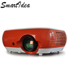 SmartIdea LED Home 3D Projector 2200lumens Handheld Personal HD LCD Digital Video Game Proyector Beamer HDMI USB VGA SD AV  (China)