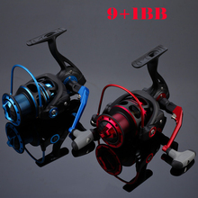 Smooth China cheap New Fishing Reel with German technology fishing reels 9+1BB 1000-4000 series spinning reel Copper gear drive