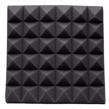Newest 30*30*5cm Studio Acoustic Soundproof Foam Sound Absorption Treatment Panel Tile Wedge Protective Sponge(China)