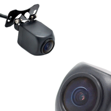 HD Night Vision rear view camera+5.7 meters cable+0.1 Lux vehicle camera+IP67 Waterproof back cam for Dual Lens Android Car DVR(China)