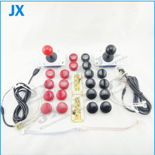DIY Arcade part Accessorie 2x USB Encoder PC to joystick + 2x Zippy Joystick + 20x China Push Button For Arcade MAME Games