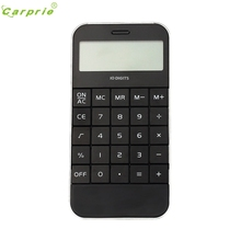 Adroit New Office Supplies Student Mini Electronic Digit Calculator Solar Energy 11S61013 drop shipping