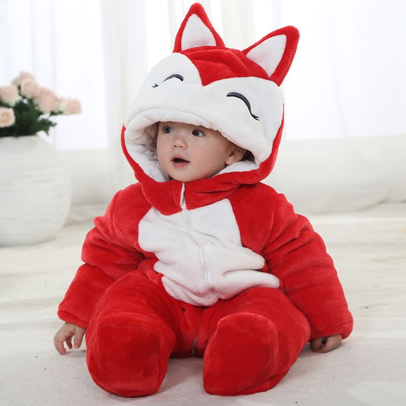 Fashion infant garment toddler girl clothing winter soft flanel warm childrens winter rompers<br><br>Aliexpress