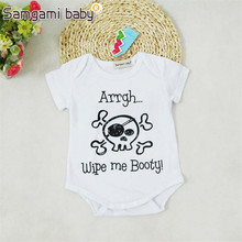SAMGAMI BABY NewBorn Baby Brand of Cartoon Funny Cotton Rompers Overalls Infant Baby Clothes, Baby Clothing Girls Boys Together