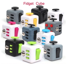Original Fidget Cube Toys A Vinyl Desk Kickstarter Toys Quality Puzzles & Magic Cubes Anti Stress Reliever