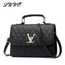 75feb1553b 2018 Fashion Leather Small V Style Luxury Handbags Women Bags Designer  Crossbody For Famous Brands Messenger