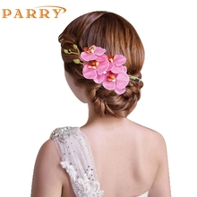 SIF  Womens Flower Hair Clip Hairpin Bridal Hawaii Party Hair Clip APR 05