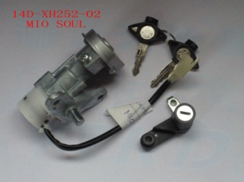 Free shipping 1set Motorcycle MIO SOUL GT Main Switch Assy for Yamaha Motor Connector 14D-XH252-02<br>