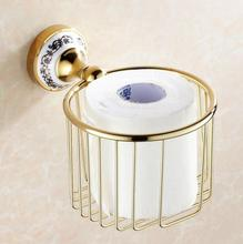 Free Shipping Toilet Paper Holder,Roll Holder,Tissue Holder,Solid Brass Antique Aluminum Bathroom Accessories Products 6271