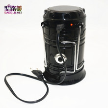 Outdoor lighting Portable Solar Charger Camping Lantern Emergency Tent light Waterproof Rechargeable Hand Lamp Crank Light(China)