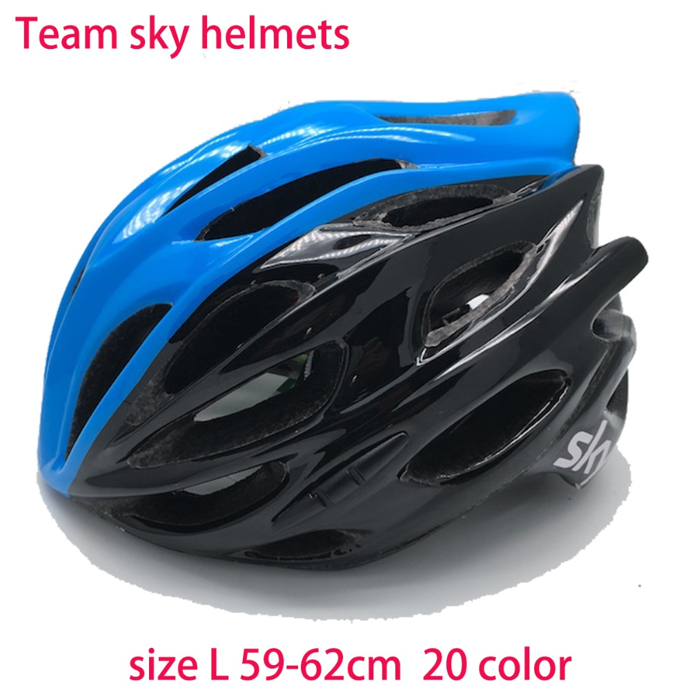 20 color size L 59-62cm Tour de France Team Sky helmets light special evade protone bicycle helmets cycling parts free shipping<br>