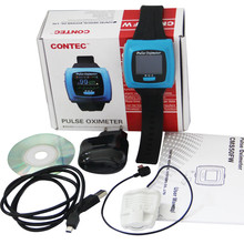 NEW Digital CE&FDA Pulse Oximeter Wrist Wearable With Sleep Study CMS50F USB Oximeter saturometro/saturometre pulsoximeter(China)