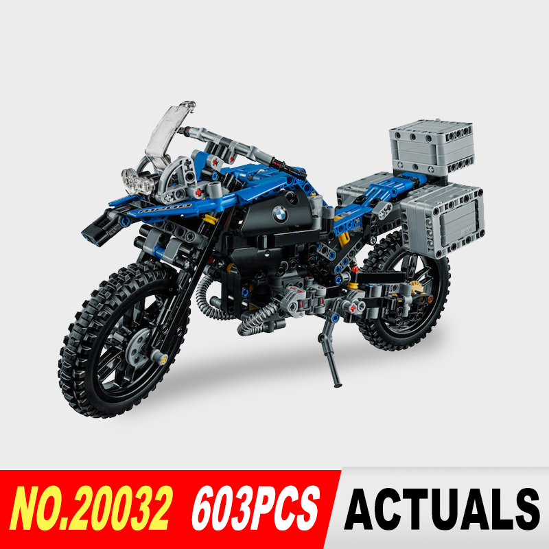 New Lepin 20032 603pcs Technic Series The car Off-road Motorcycles R1200 GS Building Blocks Bricks Educational Toys with 42063<br><br>Aliexpress