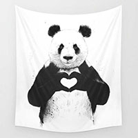 Tapestry-Panda-Animal-3D-Printed-Wall-Blankets-Beach-Towels-150x130cm-Decoration-Tapestry-Wall-Hanging-Tenture-Mural