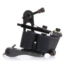 Tattoo Machine Aluminum Alloy 8 Wraps Coils Equipment Supply Liner Shader Gun Beauty Health Tools Free Shipping