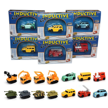 Enlighten Hot Sale 1 Piece Magic Toy Truck Inductive Car Magia Excavator Tank Construction Cars Truck Vehicles Toy Free Shipping(China)