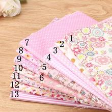 Handmade cloth cloth small fresh pink gingham Talasite do bag lining half yard(China)