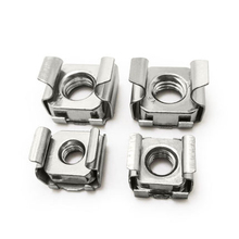 M4 M5 M6 M8 M10 Stainless Steel Card Floating Nuts Cage Cabinets Nut Square Iron Nuts(China)
