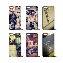 For Samsung Galaxy Core Grand Prime S4 S5 S6 S7 Edge Xiaomi Redmi Note 2 4 3 3S Pro Mi5S The Blue Vespa 7 Pattern Case Cover(China)