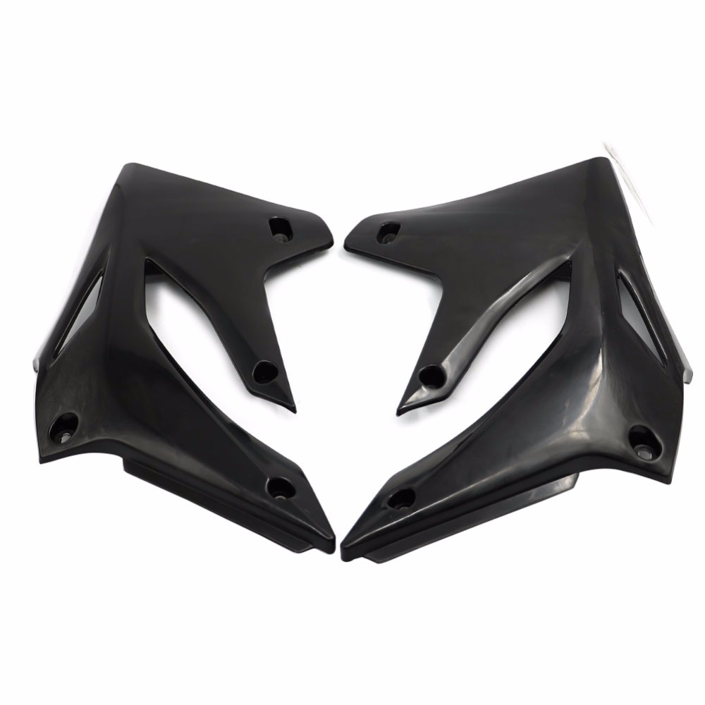 MSJFUBANGBM FUBANGBM KLX250 ABS Plastic Rear Side Panel Fairing Body Cover Frame Guard Fit for Kawasaki KLX 250 1993-2007 2006 2005 2004 2003 Color : Black