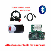 High Quality A+ Single pcb Board  new vci With bluetooth 2015.r3  software for  auto diagnostic tool VD TCS CDP PRO