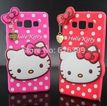 For Samsung Galaxy A5 Case Cute Silicone Hello Kitty Phone Cases Cover For Samsung A5 A500G A500H A500F A5000