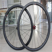 AWST super light Taiwan carbon wheels calliper road bike wheels  clincher 700C bicycle wheels with ceramic bearing hubs wheelset