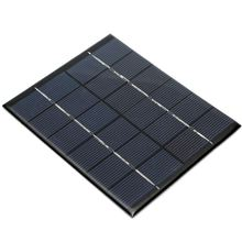 High quality Universal Solar Panel Module for Light Battery Batteries Cells Phones Charger Portable 6V 2W 330mAh DIY 110x136x3mm