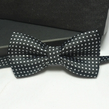 2017 Hot Sale Casual Kids Collar Bow Tie Polka Dot Design Noble Tie Cute Handsome Boy Bow Tie in Children's Accessories
