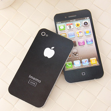 Black Fashion Iphone 4 Sticky Post It Note Paper Cell IPhone 1:1 Shaped Memo Pad Gift Office Supplies