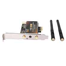 EDUP EP - 9601 300Mbps 11N PCIE Wireless Adapter Network Card with 2 x 2dBi Antenna for Desktop PC