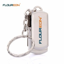 Floureon Metal Body High Speed USB 3.0 Portable Flash Drive With Ring Key 8GB 16GB 32GB 64GB U Disk Pen Drive Free Shipping