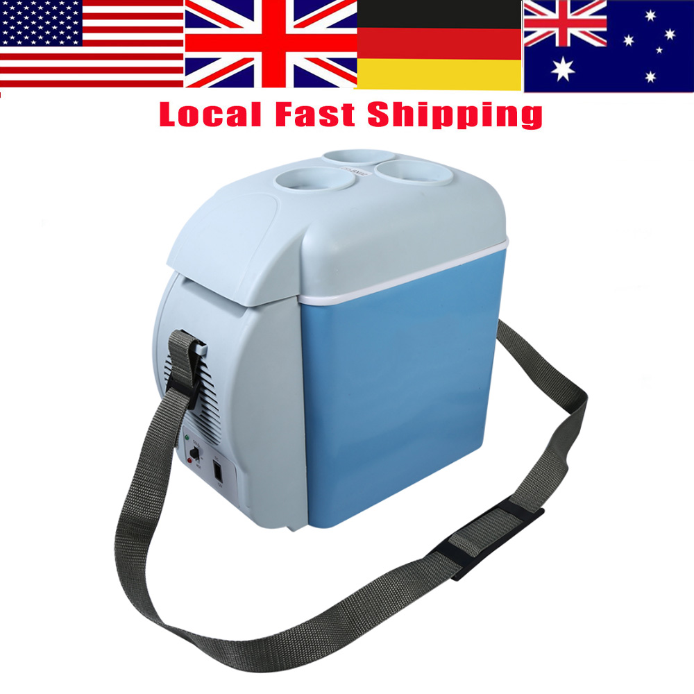 7.5L Mini Car Fridge12V Camping Travel Refrigerator Portable ABS Cooler Freezer Warmer for Home Car Truck High Quality(China)