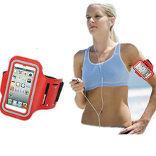Universal Running Sport Armband Bag Case for Apple iPhone 4 4S 5 5S(China)